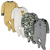 Gerber Baby Boys' 4 Pack Sleep '...