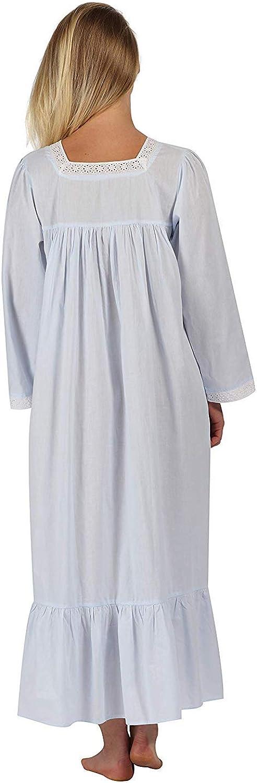 The 1 for U 100/% Cotone Stile Vittoriano Camicia da Notte con Tasche XXXL tonalit/à XS