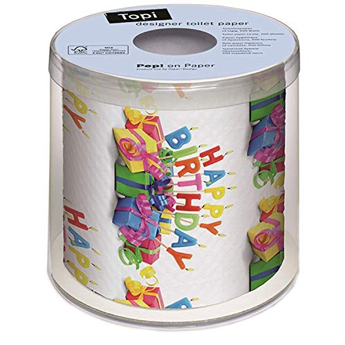 PAPER+DESIGN Toilettenpapier FSC Mix 200 Bl. Happy Bday