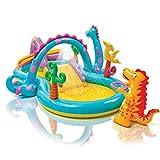 Juegos hinchable Intex Dinosaurios Play Center, con piscina y tobogán Art 57135NP