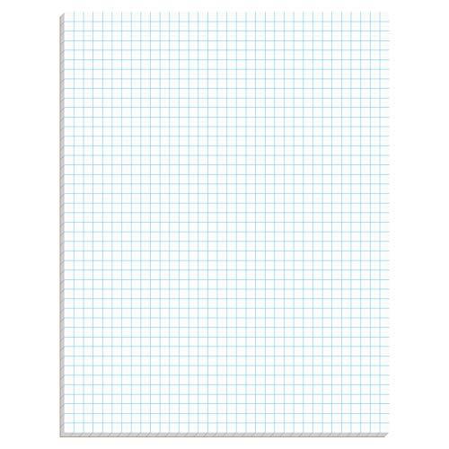 TOPS 33041 Quadrilrille Pads, 4 Quadriquadri, 8 1 2 x 11, bianco, 50 fogli
