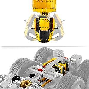 Amazon.co.jp - レゴ テクニック 6x6 ボルボ アーティキュレートダンプトラック 42114