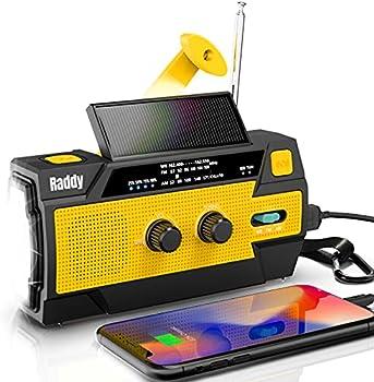 Raddy SW3 4000mAh Emergency Radio