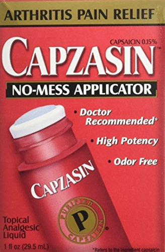 Capsaicin Arthritis Roll On w.No-Fuss Applicator /1 oz Bottle