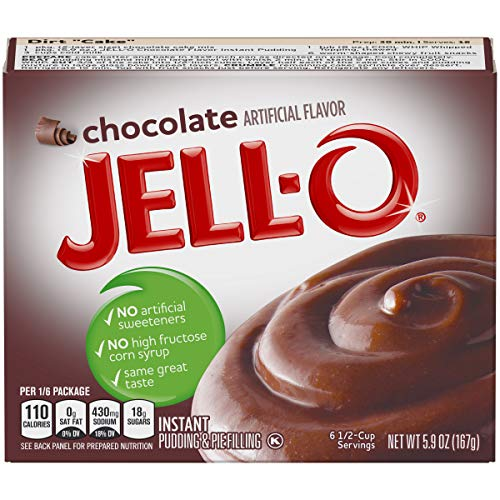 Jell-O Instant Chocolate Pudding & Pie Filling (5.9 oz Box)