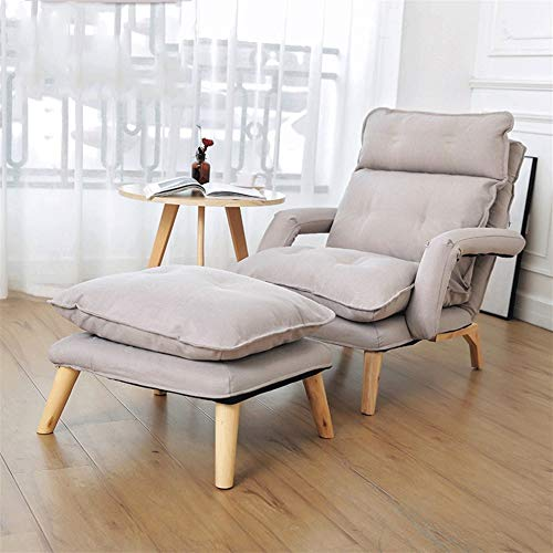 Draaibare kroegmogelijkheid keuken plaat stoel lounger sofa armleuning bed vrije tijd senioren borstvoeding stoel Japanse stijl stof
