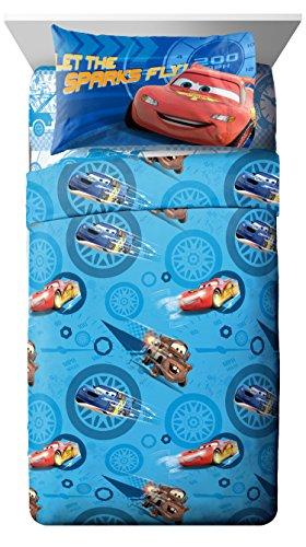 Disney/Pixar Cars City Limits 4 Piece Full Sheet Set