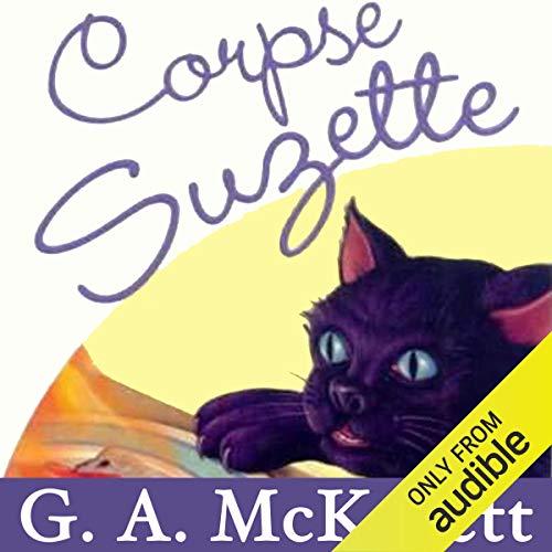 Corpse Suzette audiobook cover art