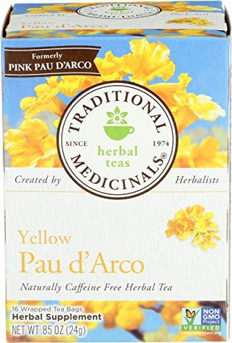 Traditional Medicinals - Gelbes Pau d'Arco - 16 Teebeutel