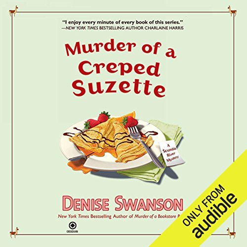 Murder of a Creped Suzette audiobook cover art