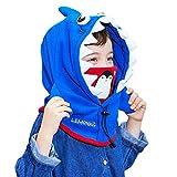 Azarxis Passamontagna Bambini, Invernale Cappello Bambino, Passamontagna da Sci Neve per Bambino Bambina Ragazzo Ragazza (Blu)