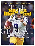 "13""x17"" Cover Poster Joe Burrow National Champion on SI's Huge Jan. 2020"