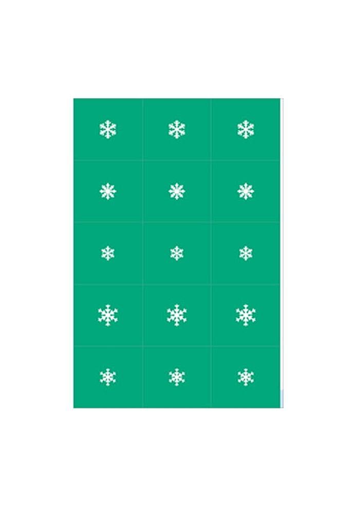 エントリのスコア味エアジェル マスキング 雪の結晶