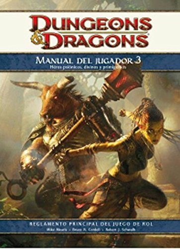 Players Handbook 3 Rules Supplement - 4th Edition Dungeons and Dragons RPG