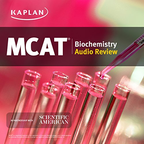Kaplan MCAT Biochemistry Audio Review Titelbild