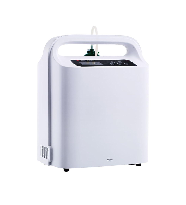 酸素マシン 酸素濃縮装置 - 家庭用酸素濃縮装置ポータブル酸素生成装置リアルタイム監視1-5L / min-Atomizing機能 (色 : Model-A)