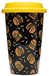 Skullburger Coffee Tumbler by Sourpuss