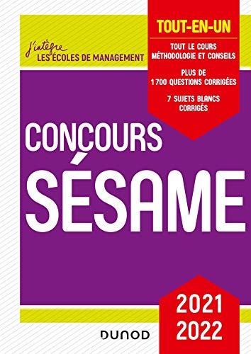 Concours Sésame 2021-2022 - Tout-en-un: Tout-en-un (2021-2022)