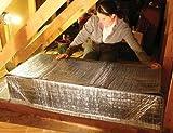 Attic Door Insulation Cover 48' x 24' Attic Stairway Tent
