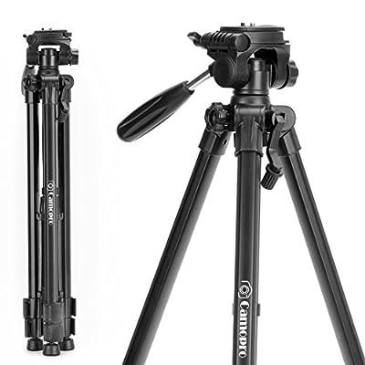 Tripod 70 Inches Professional Digital SLR Camera Aluminum Tripod Monopod for SLR DSLR Canon Nikon Sony DV Video with Carry Bag