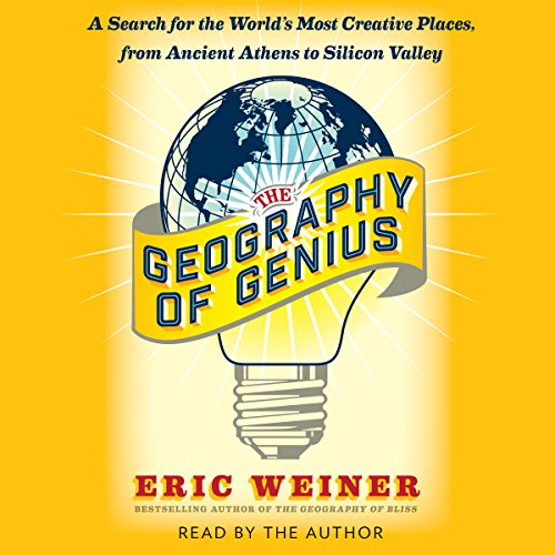The Geography of Genius audiobook cover art