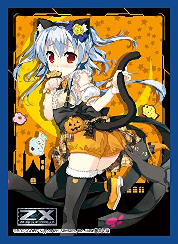 Azumi Kagamihara Halloween Z/X Ignition Anime Character Card Game Sleeves Collection Zillions of Enemy X Costume Girl Illust. Takuya Fujima by Broccoli image
