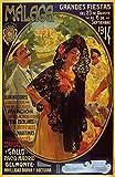 KEAPSIGN Klassisches Retro-Blechschild – Malaga Grande's