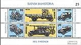 Prophila Collection Svezia Blocco 8 (Completa Edizione) 1980 Automotive (Francobolli per i Collezionisti) Fuoco / Polizia