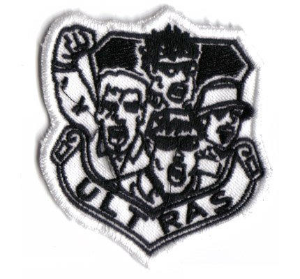Ultras Logo Hooligan Boot Boys Fussball Fanclub Kutten Abzeichen Aufnäher Patch Aufbügler