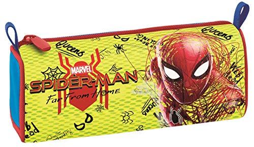 Seven Bauletto Spider-Man Movie Legendary Federmäppchen, 21 cm, 0.5 liters, Mehrfarbig (Blu e Rosso)