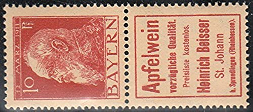 Goldhahn Bayern S 7.5 postfrisch  Briefmarken für Sammler
