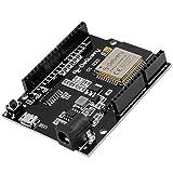 AZDelivery ESP32 D1 R32 Placa de Desarrollo con CH340G y WiFi + Bluetooth IoT con Micro USB compatible con Arduino incluido un E-Book!