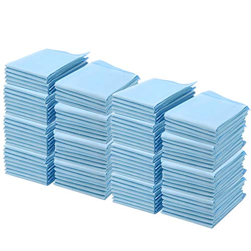 110 piezas de almohadillas desechables de 23,62 x 23,62 pulgadas, pañal para adultos de incontinencia transpirable ultra absorbente,gran protección como almohadillas de cama y almohadillas para orinar