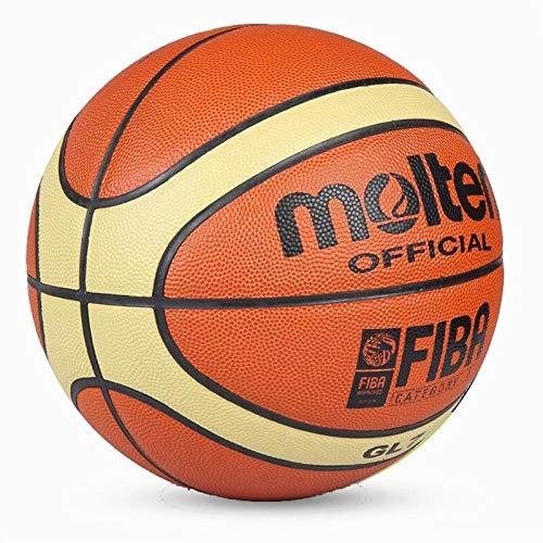 Pelota de Baloncesto Barato Gl7 Baloncesto Ball PU Materia Oficial Size7 Baloncesto Gratis con Bolsa De Red + Aguja