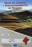 Ansoain Hoja 115-Iv.Mapa de Cultivos y Aprovechamientos de Navarra. 1:25.000