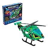 Cra-Z-Art - Juego construcción helicóptero, 49 piezas Magtastix (85336) , color/modelo surtido