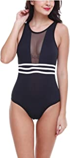 NEW BLUE EYES Women'S Swimwear One Piece Backless Elastic Beachwear/Swimsuit/Swimwear Monokini