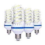 Lampadina LED E27 20 W (150 W Equivalen lampada LED), Luce Bianca Calda 3200K, 360 Gradi Angolo del Fascio, Non Dimmerabile, 1700LM LED a Risparmio Energetico Mais Lampadina – Confezione da 4 (3200K)
