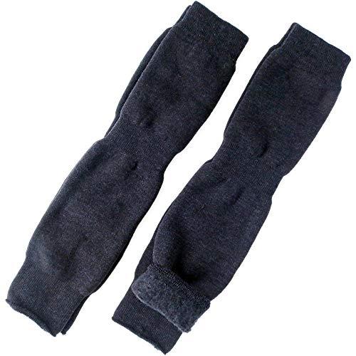 冷え取り男女兼用ひざ用サポータひざ上レッグウォーマーロングタイプ2足セット