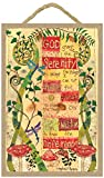 Love & Laughter 10' L x 7' W GOD Grant ME Serenity Prayer Wood Plaque Inspiration Gift