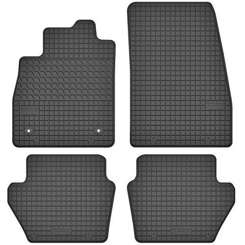 AGCPdirect Gummi Matten Fußmatten Passgenau 4-teilig Set für Ford Fiesta 2017-2021