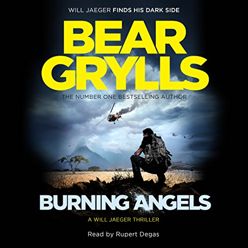 Burning Angels audiobook cover art