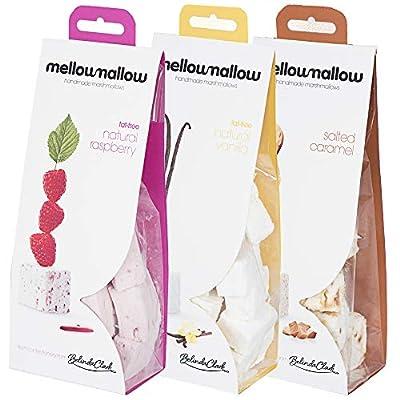 belinda clark gourmet marshmallow - handmade 100% natural raspberry - vanilla - salted caramel marshmallows - 3 x 85g bags Belinda Clark Gourmet Marshmallow – Handmade 100% Natural Raspberry – Vanilla – Salted Caramel Marshmallows – 3 x 85g… 51BD TQVrpL