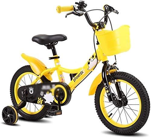 Xiaoyue Fahrräder Indoor Outdoor-Sport-Fahrrad Students Rennrad 2~12 Jahre altes Mädchen Kinderwagen Boy Fahrrad (Farbe: Blau, Größe: 16inche) lalay (Color : Yellow, Size : 16inche)