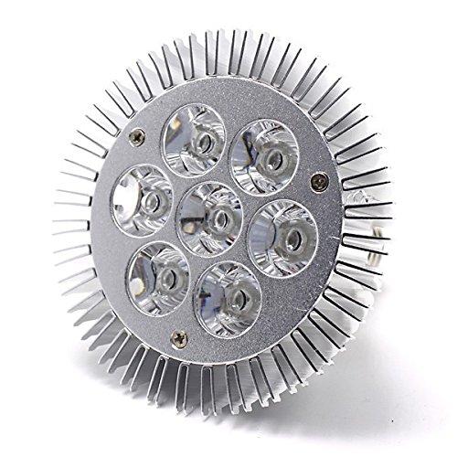 46Z8 水槽照明アクアリウムライト7W青1赤1白5灯水草植物育成海水LEDライトスポットライト(青1赤1白5灯)
