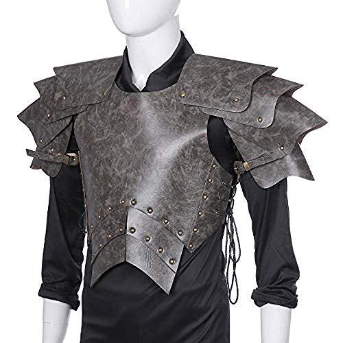 FXQ Cosplay Rüstung Pu-Leder Rüstung Halloween Erwachsene männer Pu-Leder Mittelalterlichen Samurai Cosplay Rüstung Kostüm Cosplay für Hallween