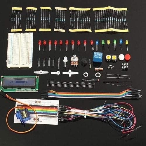 ExcLent Projekt LCD 1602 Starter Kit Für Arduino UNO R3 Mega Für Nano Servo LED Pdf-Multi-A