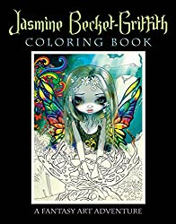 jasmine becket griffith fantasy coloring book