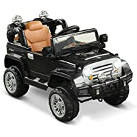 Aosom 12V Kids Electric Battery Powered Ride On Toy off Road Car with Remote Control