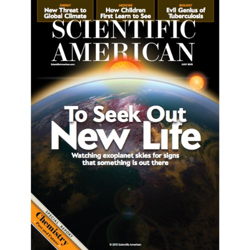 Scientific American, July 2013 audiobook cover art